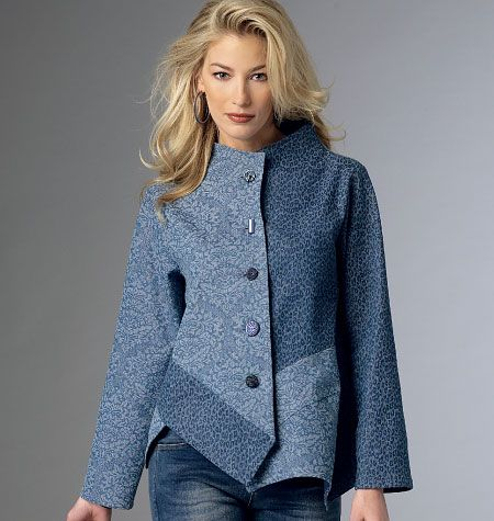 Butterick 6106 - Katherine Tilton Jacket that is so funky and cool!