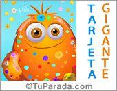 Envía  una tarjeta de saludos: http://www.tuparada.com/cards/tarjeta-gigante-de-hola/30347/3533