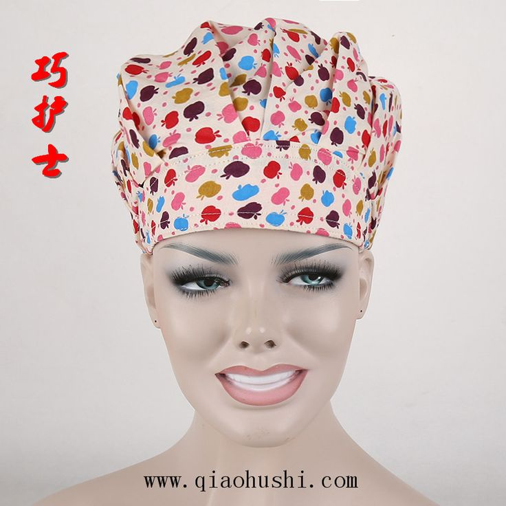 It's a scrub cap, but would work great to keep hair out of your face when cooking
