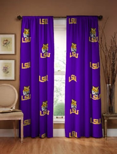 "LSU Tigers Curtain Panel 63"" by LANTRIX, http://www.amazon.com/dp/B0040RRMPK/ref=cm_sw_r_pi_dp_zv8Uqb157ZQ1C"