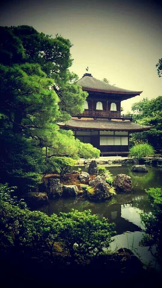 Ginkakuji, Silver pavillion in Kyoto