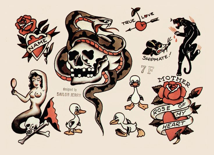#SailorJerry I like the panther, strangely lol I have dreams of them all the time. Strange!
