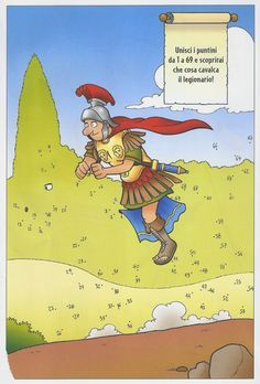 30 giochi divertenti sugli antichi romani. Schede didattiche per la classe quinta.