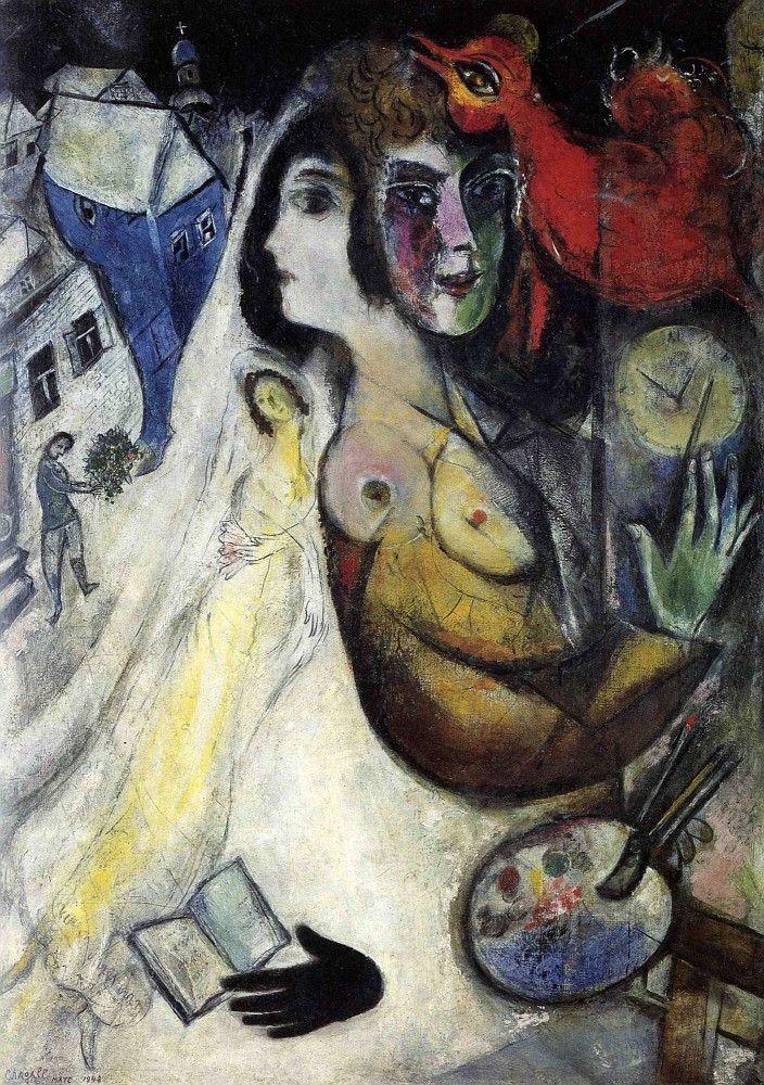 Marc Chagall Le gant noir 1923-48 Huile sur toile © Collection Particulière