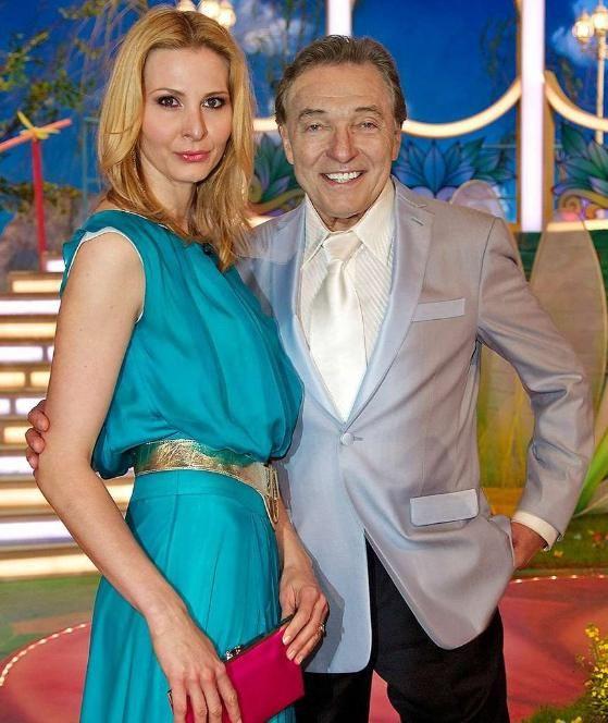 Karel Gott und Ivana Gottowa