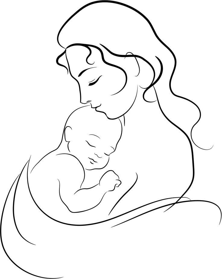 Рисунок для новорожденного, украина
