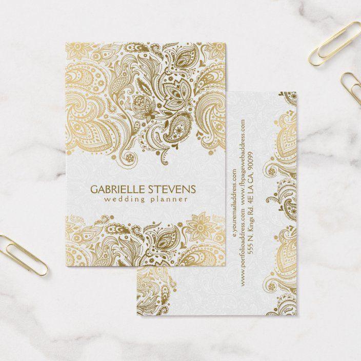 Create Your Own Profile Card Zazzle Com Wedding Planner Business Card Wedding Planner Card Wedding Planner Business