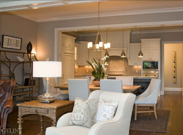 Custom Built Perk: Ability To Incorporate How Your Home Is Built Within  Your Budget. Custom Luxury Mountain Home Family/living Room.