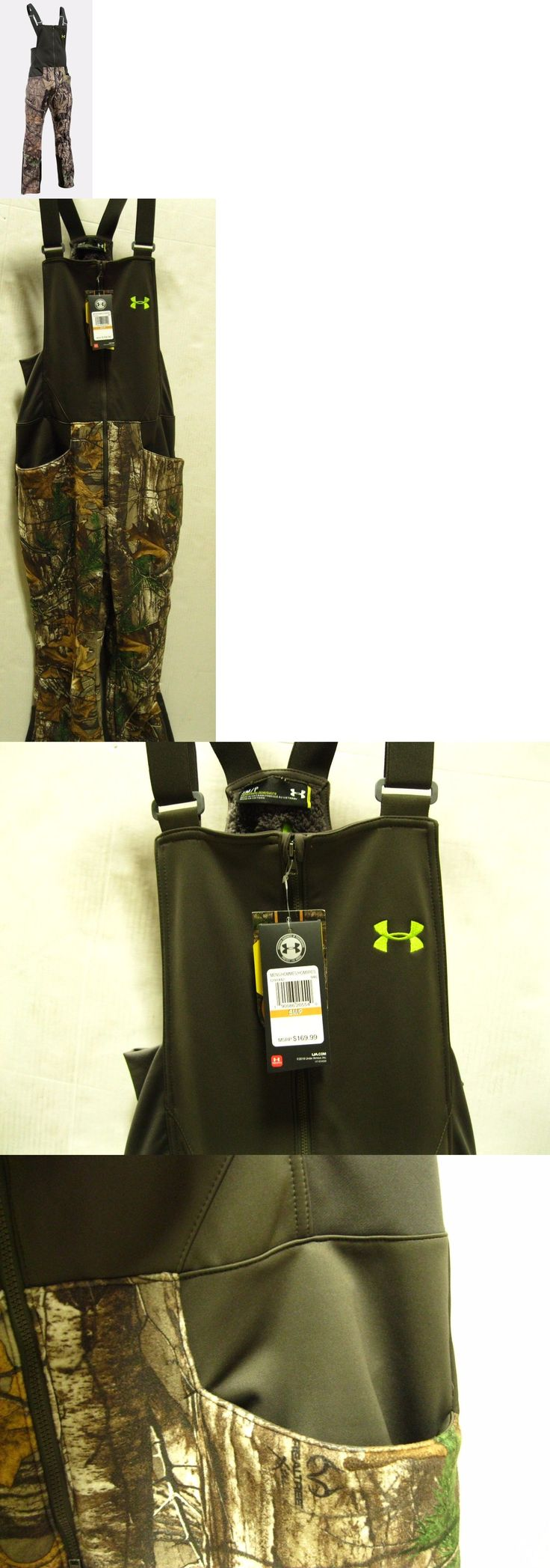Pants and Bibs 177873: Under Armour Mens Ua Stealth Fleece Hunting Bibs - Rtap - Sm- #1291442-Nwt -> BUY IT NOW ONLY: $84.99 on eBay!