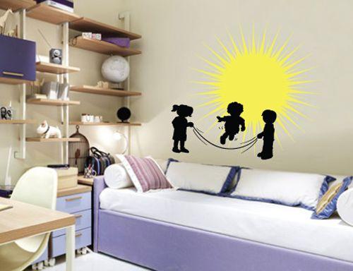 Διακόσμηση παιδικού δωματίου με #WallStickers από την #HouseArt