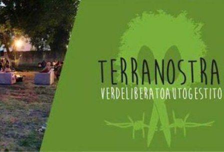 Compleanno Clandestino di Terranostra occupata a Casoria