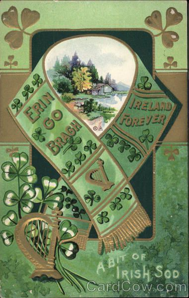 131 best erin go bragh images on pinterest ireland irish and celtic divided back postcard ireland forever a bit of irish sod find this pin and more on erin go bragh m4hsunfo