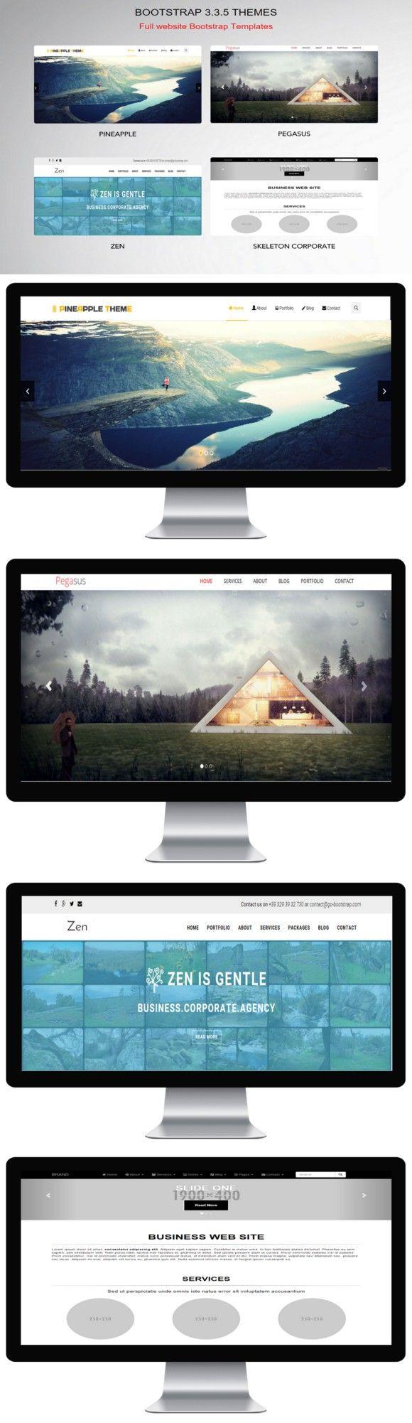 Bootstrap 3.3.5 Themes Theme, Jquery, Design skills