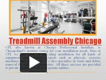 Whether you're looking to clean up your old equipment or buy new, most people don't like or know how to set up and maintain their workout machines. At Chicago Professional Installers, we're experts in Fitness Equipment Assembly Chicago. We have put together many different types of exercise equipment that range from small simple machines to high-tech, complicated pieces of equipment. Treadmills, rowing machines, elliptical trainers, stair climbers, stationary bikes are no problem for our…