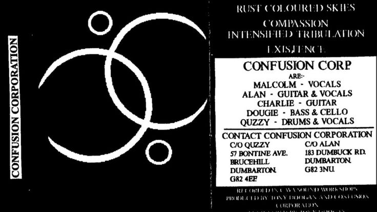 CONFUSION CORPORATION - Confusion Begins ◾ (demo 1994, UK death metal/grindcore)