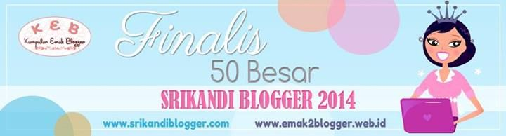 Nah, ini dia….. Berikut saya tampilkan List Nama-nama Emak yang maju ke tahap #50FinalisSB2014 (diurutkan berdasarkan abjad), lengkap.  Template blog ini buatan saya sendiri lho, ayo mampir......