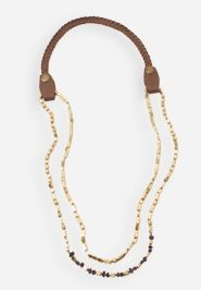 In love with this Golden Rivers necklace from @noondaystyle - perfect to dress up a cozy fall sweater & boots!