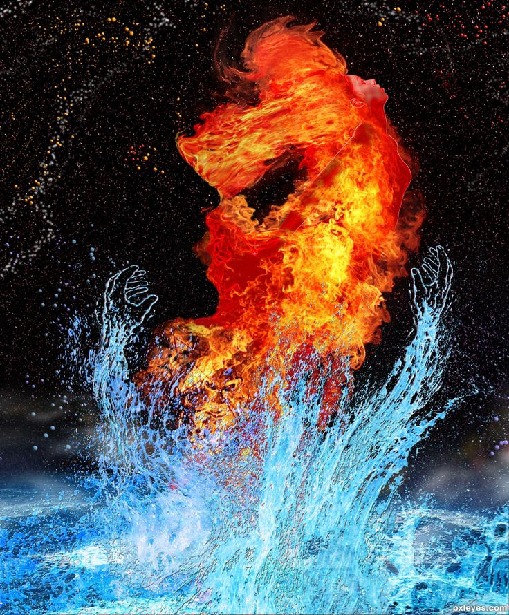 pin by n k on fire fire ice flame art ice tattoo. Black Bedroom Furniture Sets. Home Design Ideas
