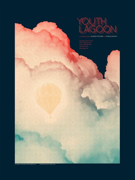 Youth Lagoon by Paloma ChavezGig Posters, Youth Lagoon Poster, Gigposters Com, Art, Graphics, Lagoon Gig, Lagoon Concerts, Concerts Posters, Concert Posters