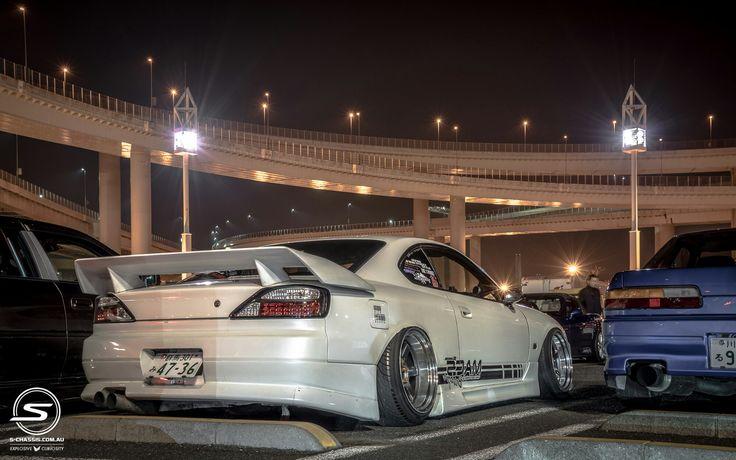 Nissan Silvia S15 240sx #jdm #schassis #drift #drifting #stance #stanced #stanceworks #deepdish