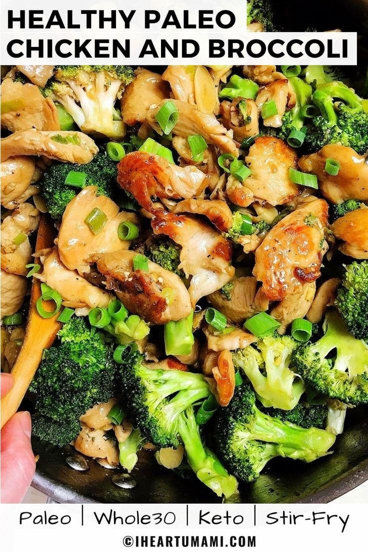 Paleo Chicken And Broccoli Stir Fry Whole30, Keto -8181