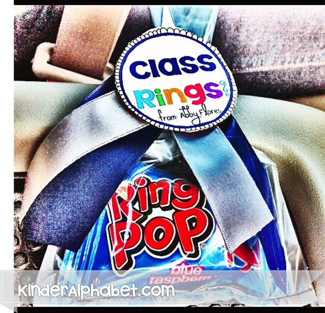 Class Rings! End of the Year Party Favor Ideas