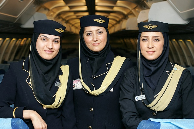 Iran Air Cabin Crew Airline Uniforms Pinterest