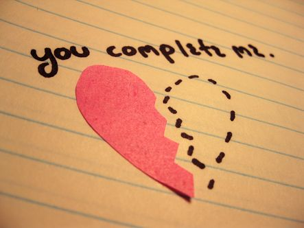 You complete me....
