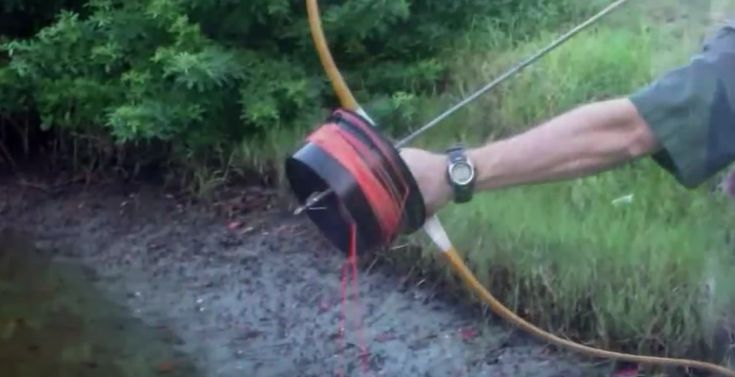 Homemade Bowfishing Reel – Shoot Through Style