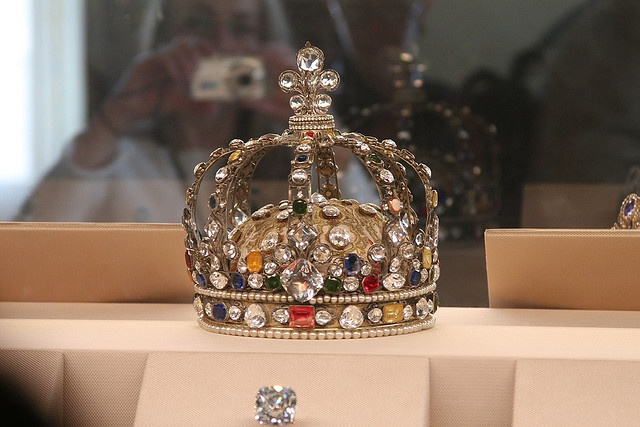 The Crown Jewels    1722 Crown of Louis XV