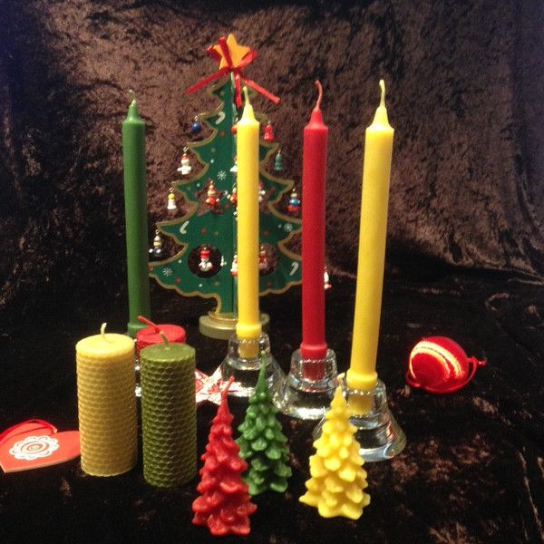 Christmas all-day candle pack