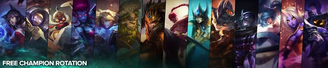 awesome Free Champion Rotation, Week of August 29th