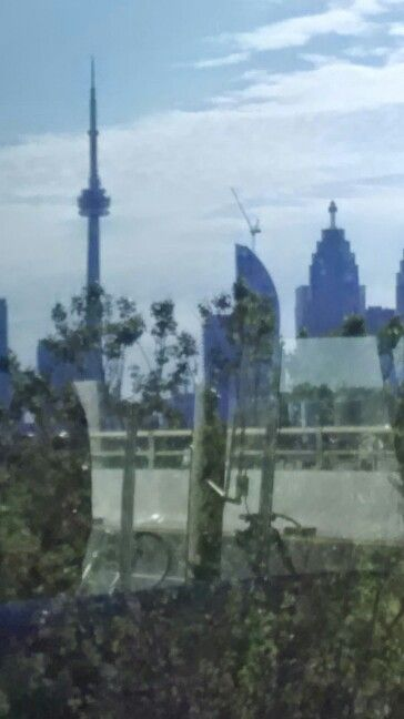 My view from the GO bus
