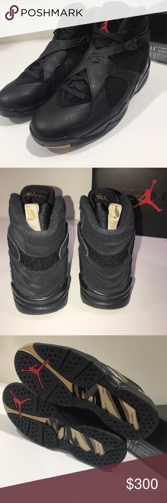 Air Jordan Retro 8 October's Very Own OvO Black DS Dead stock. Your feet will be first feet in sneakers. 1000% Authentic or Double your money back . Price is negotiable if you buy today. No P-Pal , No Trades, & NO lowballing. I do not take payments thru Posh. Contact me for more info regarding payment info 678 888 5903 Jordan Shoes Athletic Shoes