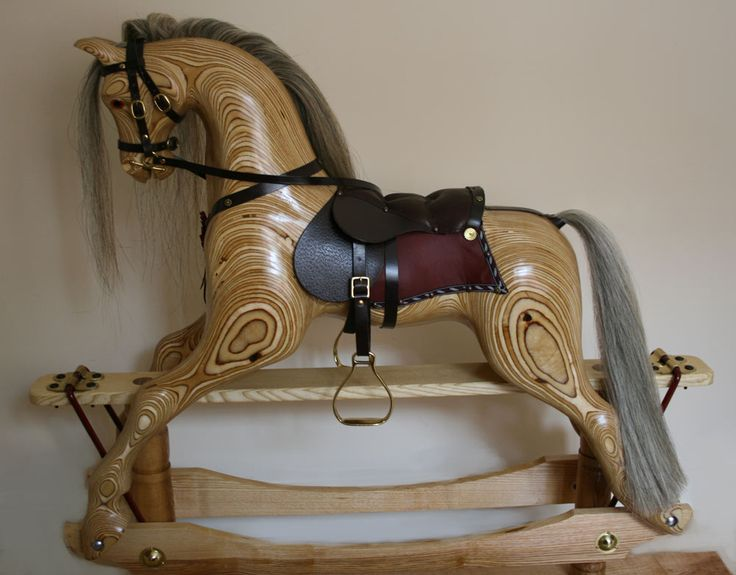 Laminated Rocking Horse Plans - WoodWorking Projects & Plans