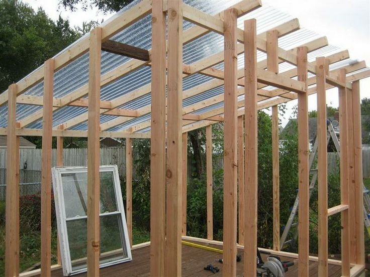 23+ Greenhouse roof design ideas
