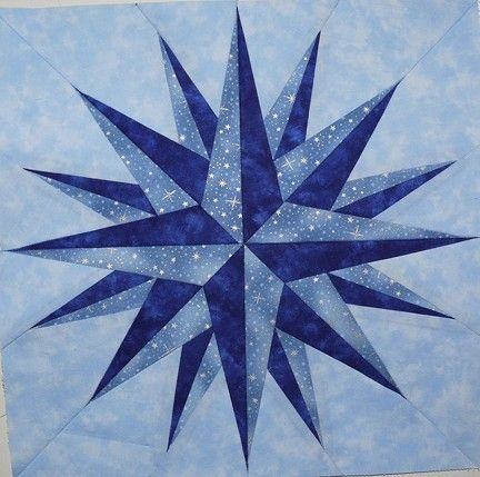 Quilting Patterns | Nautical Quilt Patterns - My Patterns - light and dark blues