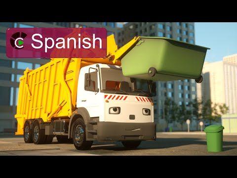 George el camión de basura (SPANISH) - George the Garbage Truck (Real City Heroes) - YouTube