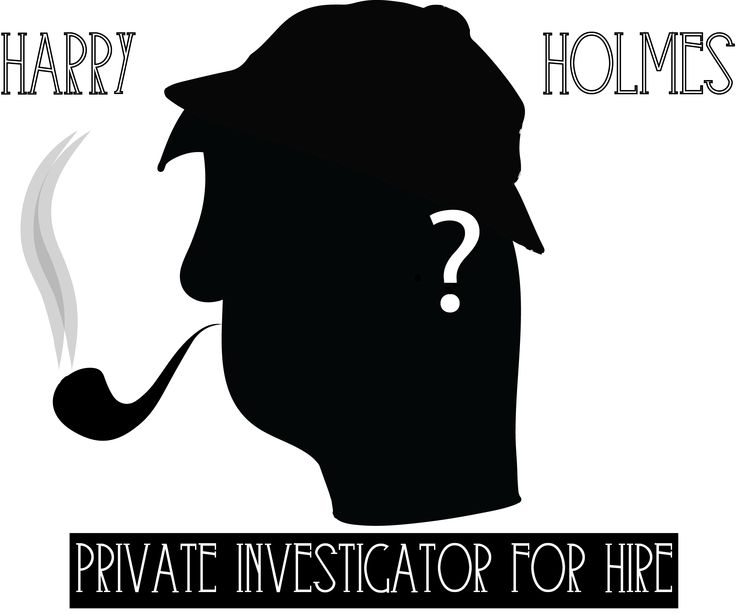 Harry Holmes: Private Investigator For Hire logo by Alistair Kavalt. This is one of my favourite logos since it was the first one that required me to use my Wacom Pad.