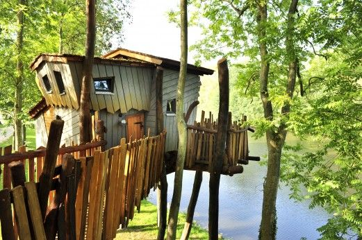Tree house in France - must do again!