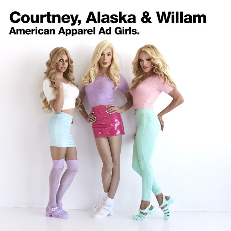AAA Girls: Alaska 5000, Courtney Act & Willam