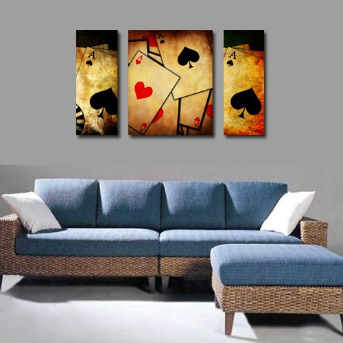 Poker Room Decorations Poker Card Room Decorative