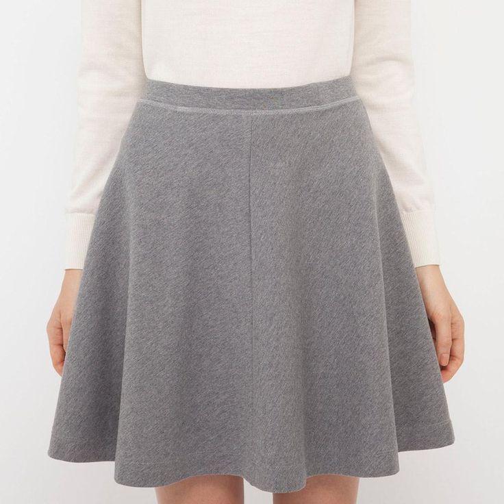 WOMEN Ponte Flare Skirt