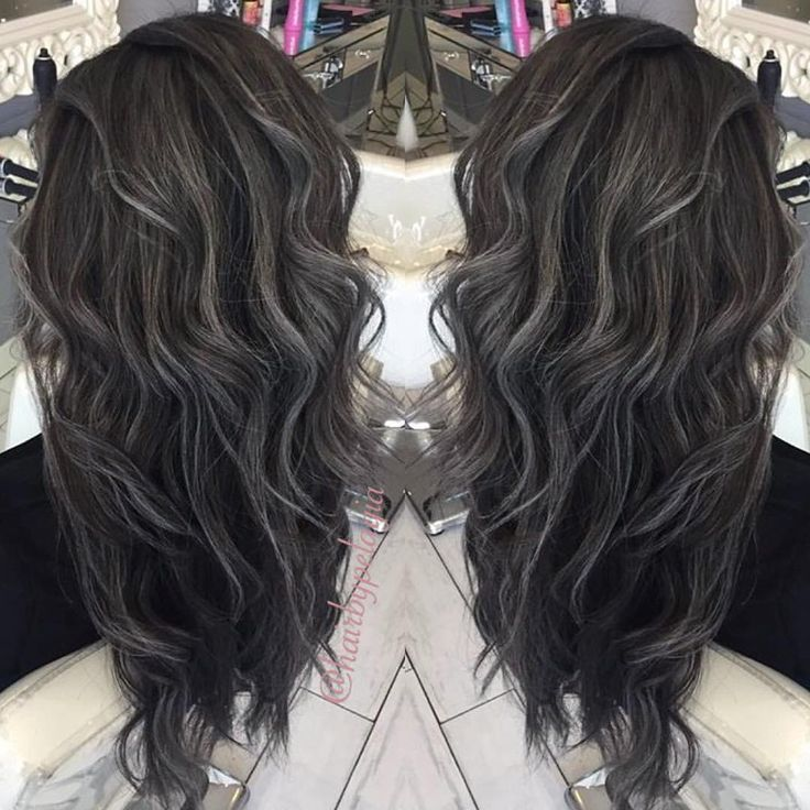 Best 25 dark grey hair ideas on pinterest which is the best 136 likes 8 comments pelagia penny hair stylist hairbypelagia grey highlightshair pmusecretfo Choice Image