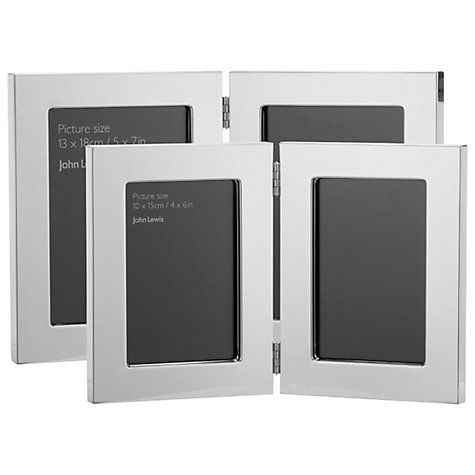 Perfect for those special memories. Buy John Lewis Plane Double Photo Frame Online at johnlewis.com
