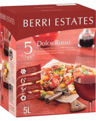 Berri Estates Dolce Rosso Cask 5L