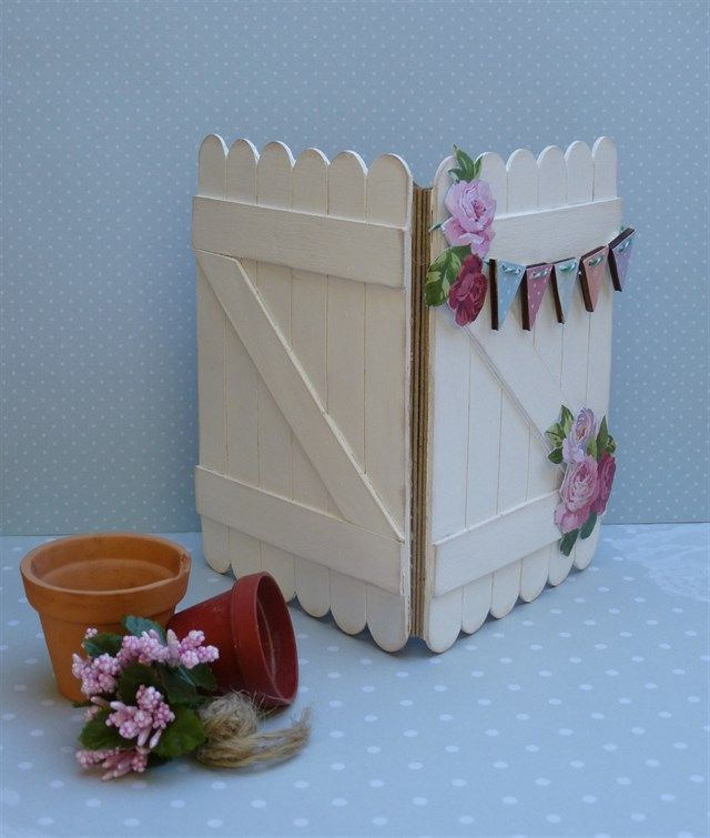 Through the garden gate | docrafts.com