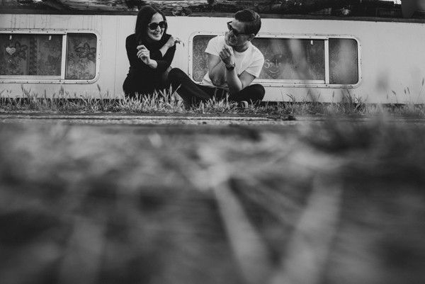 Edgy Engagement Shoot in London from Mantas Kubilinskas