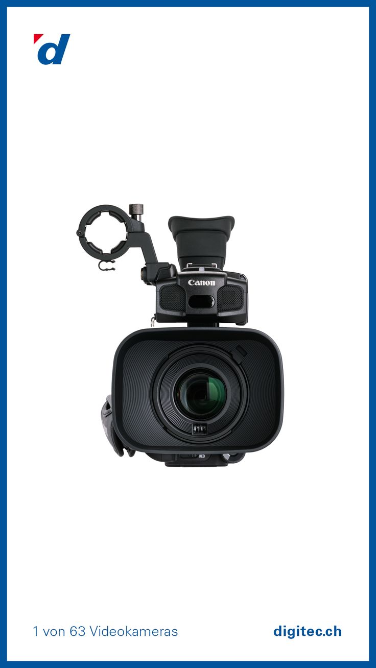 Canon XF100 Videokamera, Full-HD Flash Camcorder, 10x Zoom, Schwarz #Kamera #Film #Filmkamera #Video #Digital #digitec