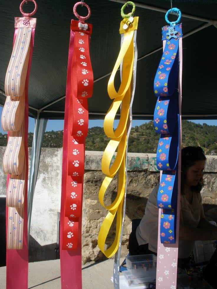 Porta-diademas con lazos
